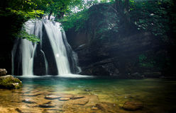 Janets Foss Waterfall - Long Exposure Royalty Free Stock Photography