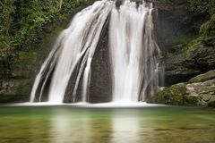 Janets Foss vattenfall royaltyfri fotografi
