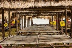 Jangada de bambu. Imagem de Stock Royalty Free