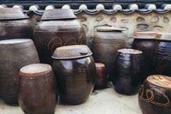 Jangdokdae, Korean traditional Jars Royalty Free Stock Photography