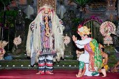 Janger dance, Ubud, Bali, Indonesia. Royalty Free Stock Photography