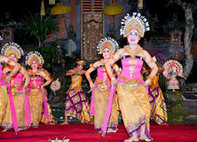 Janger dance. Ubud. Indonesia Stock Photo