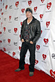 Jani Lane on the red carpet. Jani Lane of Warrant at the 4th Annual Musicares MAPfund Benefit Concert at the Henry Fonda Music Box Theatre in Hollywood in May royalty free stock photo