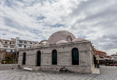 The Janissaries Mosque in Chania's old town, Crete Stock Image
