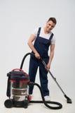 Janitor που στερεί σας από το ρύπο Στοκ Εικόνα