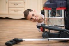 Janitor που στερεί σας από το ρύπο Στοκ Εικόνες