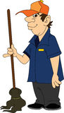 Janitor Stock Photo