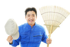 Janitorial cleaning service Stock Photo