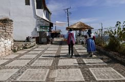 Janitzio, Мексика 5-ое декабря 2017: Остров Janitzio Стоковые Фотографии RF