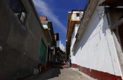 Janitzio, Мексика 5-ое декабря 2017: Остров Janitzio Стоковая Фотография RF