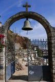 Janitzio, Mexico-December 5, 2017: Janitzio Island c Cemetery Stock Image