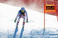 Janka Carlo στο αλπικό Παγκόσμιο Κύπελλο σκι Audi FIS - RA των ατόμων προς τα κάτω Στοκ εικόνα με δικαίωμα ελεύθερης χρήσης