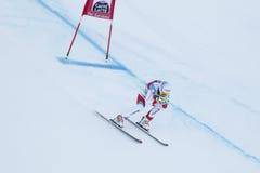 Janka Carlo in Audi FIS Alpine Ski World Cup - 3rd MEN'S SUPER-G Royalty Free Stock Photography