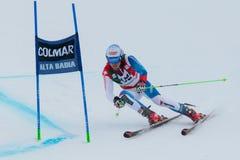 JANKA Carlo (SUI). Alta Badia, ITALY 22 December 2013. JANKA Carlo (SUI) competing in the Audi FIS Alpine Skiing World Cup MEN'S GIANT SLALOM Royalty Free Stock Photos
