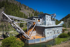 Jankeska rozwidlenie bagrownica, Idaho obraz royalty free