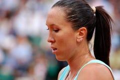 Jankovic Jelena # 1 in WTA, das 2008 (5) ordnet Stockbild