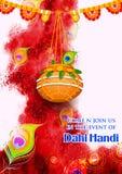 Janmashtami heureux Images stock