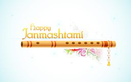 Janmasthami felice Fotografie Stock Libere da Diritti
