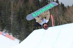 Janne Korpi - slopestyle Stock Image