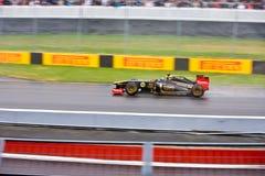 Jano Trulli, das Montreal am großartigen prix läuft Lizenzfreies Stockbild