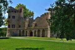 Janohrad  (Johnś castle). John Castle, artificial ruins built between 1801-1807, designed by Joseph Hardtmuth Royalty Free Stock Image