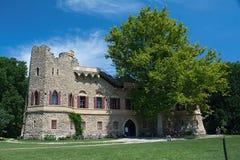 Janohrad  (Johnś castle). John Castle, artificial ruins built between 1801-1807, designed by Joseph Hardtmuth Stock Image