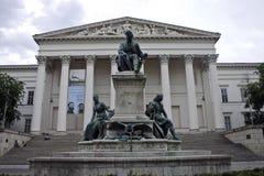 Janos Arany muzeum narodowe i rzeźba, Fotografia Stock