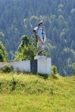 Janosik statue stock image
