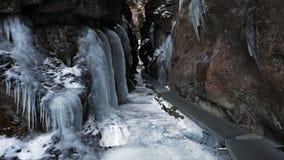 Janosikove diery canyon , Mala Fatra, Slovakia Royalty Free Stock Photography