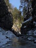 Janosikove diery canyon , Mala Fatra, Slovakia Royalty Free Stock Photo