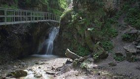 Janosikove diery canyon , Slovakia Stock Photo