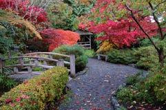 Janpanese garden Royalty Free Stock Image