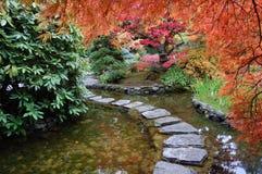 Janpanese Garten Lizenzfreies Stockfoto