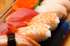 Janpanese Sushi take away Stock Image