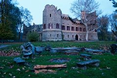 Jans Castel I , Région de Lednice-Valtice, photo éditoriale Image stock