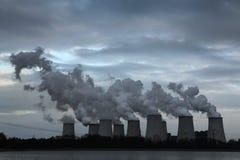 Janschwalde Power Station near Cottbus, Germany. Royalty Free Stock Photo