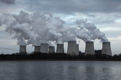 Janschwalde Power Station near Cottbus, Germany. Royalty Free Stock Image