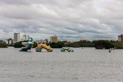 Jansen Lake Sao Luis do Maranhao royalty free stock image
