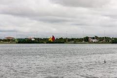 Jansen Lake Sao Luis gör Maranhao Fotografering för Bildbyråer