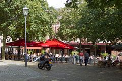 Jansplein in Arnhem Stock Photography