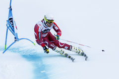 JANSRUD Kjetil in Audi Fis Alpine Skiing World-de Reus van Kopmen's Stock Fotografie