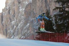 JANSRUD Kjetil (NOR). VAL GARDENA - GROEDEN, ITALY 21 December 2013. JANSRUD Kjetil (NOR) competing in the Audi FIS Alpine Skiing World Cup MEN'S DOWNHILL on the Royalty Free Stock Photos