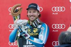 JANSRUD Kjetil (NOR). VAL GARDENA, ITALY 21 December 2013: JANSRUD Kjetil (NOR) takes 2nd place during the Audi FIS Alpine Ski World Cup Men's downhill Royalty Free Stock Images