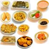 Jantando o alimento do árabe da cozinha Imagens de Stock