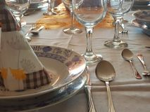 jantar Imagem de Stock Royalty Free