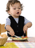 Jantar! Imagens de Stock Royalty Free