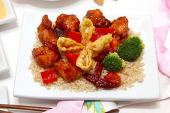 Jantar chinês Fotografia de Stock Royalty Free