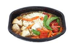 Jantar congelado da galinha Imagens de Stock Royalty Free