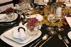 Jantar da acção de graças Foto de Stock