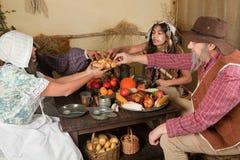 Jantar da acção de graças Imagens de Stock Royalty Free